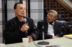 Chol Soo Lee and K.W. Lee spoke last year at the National Japanese American Historical Society in San Francisco.