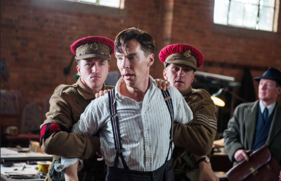 "Benedict Cumberbatch portrays Alan Turing in ""The Imitation Game."" (The Weinstein Company/Jack English)"