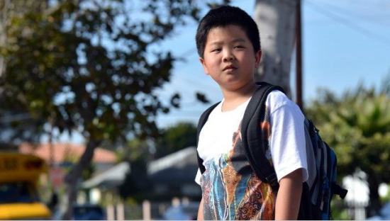 "Hudson Yang stars in ""Fresh Off the Boat,"" in which an immigrant family moves from Washington, D.C. Chinatown to suburban Orlando during the 1990s. (ABC)"