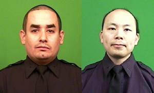 NYPD Officers Ramos and Liu