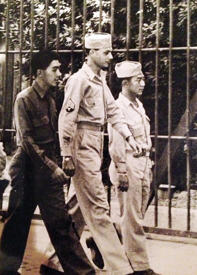Masaji Ito in Naples, Italy in 1944