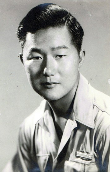 Susan Ito's father, Masaji Ito, in Naples, Italy in 1944. (Courtesy of Susan Ito)