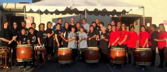 Taiko Center of L.A. at the Sozenji Community Obon Festival