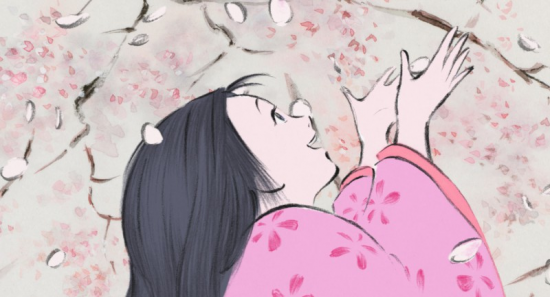 "A scene from ""The Tale of the Princess Kaguya"" (Studio Ghibli)"