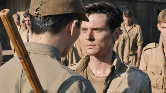 "In Angelina Jolie's ""Unbroken,"" Louis Zamperini (played by Jack O'Connell) survives more than two years in a Japanese POW camp. (Universal Pictures)"