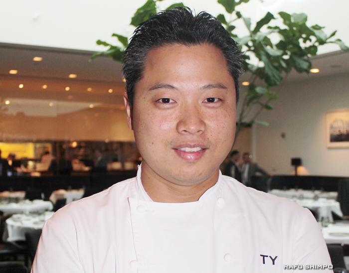 世界中から食通が訪れるカリフォルニア料理レストラン「スパゴ」本店で総料理長を務める矢作さん