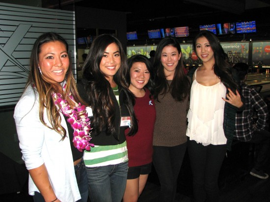 The 2010 Nisei Week Court was the winning women's team. From left: Jamie Hagiya, Lani Nishiyama (queen), Christy Sakamoto, Erin Yokomizo and Brynn Nakamoto.
