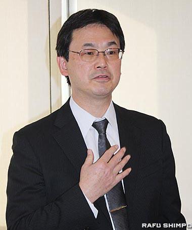 日本の介護食を紹介した農林水産省の石田寿審議官