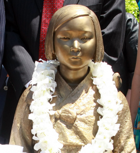 "There was controversy throughout the year over a ""comfort women"" monument in Glendale and a proposal to establish one in Fullertong."