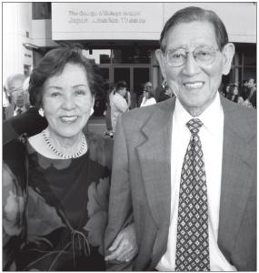 George and Sakaye Aratani