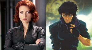 Scarlett Johansson and Motoko Kusanagi