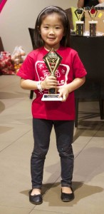 Girls Junior Winner Torri Yoshida (Courtesy Nisei Week Bowling Tournament Committee)