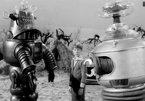 "Kinoshita's creations appear together with Bill Mumy in a 1966 episode of ""Lost in Space."""