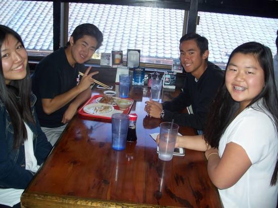 Rising Stars 12 participants at Oiwake.