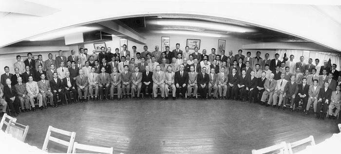 マロニー法に反対する15組合の代表が集まり、1955年に発足した南加庭園業連盟(写真=南加庭園業連盟提供)