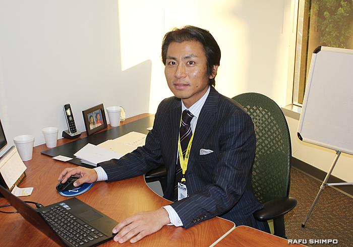 05年に米国でコンサルティング会社「グロービッツ」を設立し、代表取締役を務める春山貴広さん