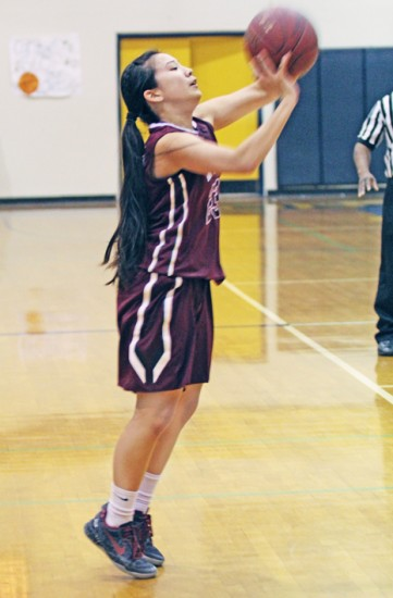 Kelli Kamida finished with 42 points – all via the three-point shot – in Mark Keppel's 90-36 victory Friday at Montebello. (Andrew Lee)