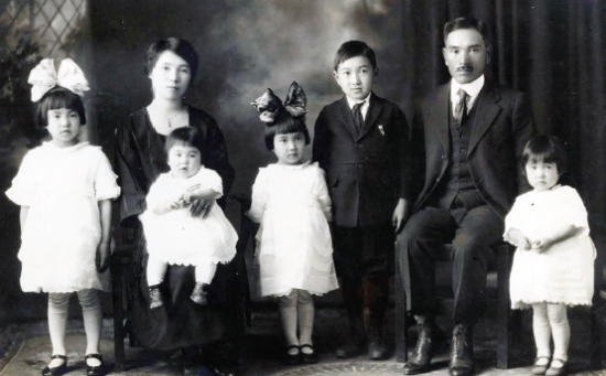 The Furuta family is profiled in