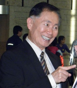 George Takei (J.K. YAMAMOTO/Rafu Shimpo)