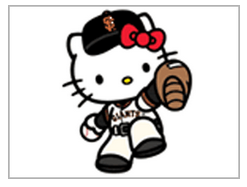 hello kitty day-giants