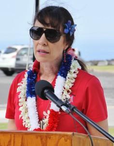 The keynote speaker was Col. Debra Lewis, U.S. Army (retired).