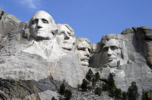 "Mt. Rushmore in South Dakota is a destination on the ""to do"" list."