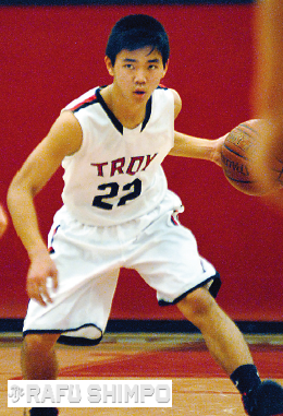 Ryan Murase netted five in Troy's tough win over Sunny Hills.