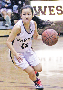 Gay Kurahashi  Camryn Morimoto scored five in West's victory over Torrance. (Photo by Gay Kurahashi)