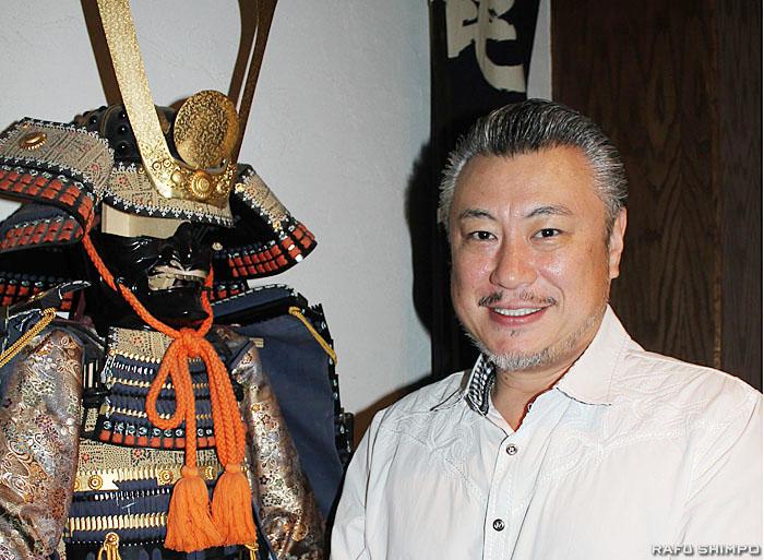 小東京をはじめLA各地でレストランを経営する毘沙門グループ代表取締役の甲山貴明さん