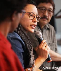 "Rey Fukuda gave a transgender, mixed-race perspective on ""Black Lives Matter."""