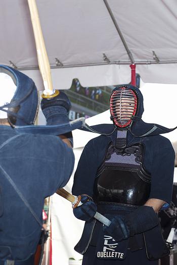 ジャパン・ファミリーデーでは、さまざまな日本の伝統文化が披露される