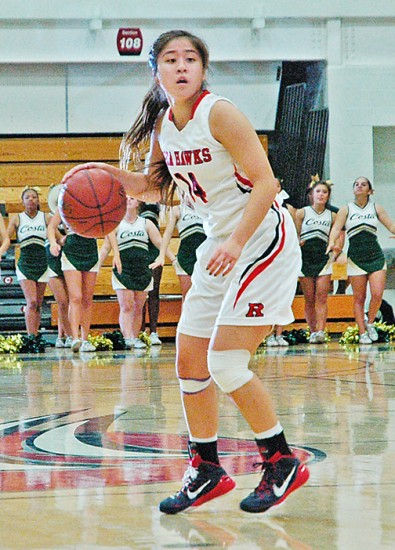 Redondo's Nao Shiota scored 13 in the win over rival Mira Costa.
