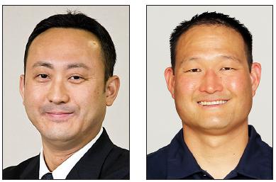 Yosuke Honjo and Rocky Seto