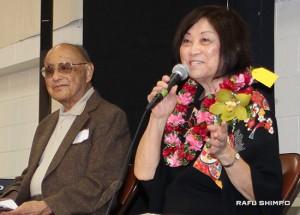 Lloyd Inui and Iku Kiriyama have been board members since JAHSSC's inception 38 years ago.