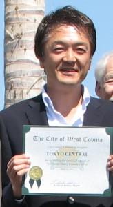 Marukai President Kenji Sekiguchi.