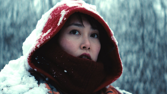 "Rinko Kikuchi stars in ""Kumiko the Treasure Hunter."" (Photo by Sean Porter)"