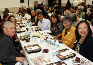 The family of the late Sue Kunitomi Embrey, a 1992 honoree for her work with the Manzanar Committee.