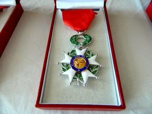 The Legion of Honor is France's highest award.