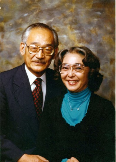 Minoru Yasui and his wife True.