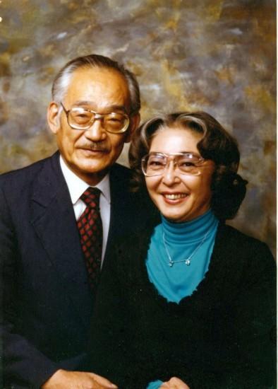 Minoru Yasui and his wife True.