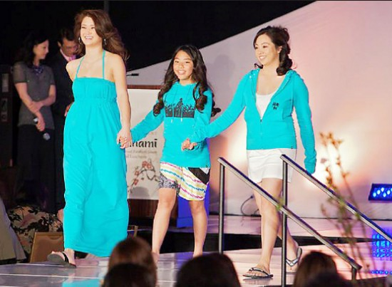Models walk down the runway at the So-Phis Fashion Show.