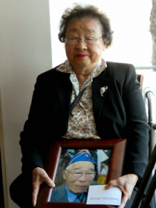 The late George Yasukawa was represented by his wife, Jeane.