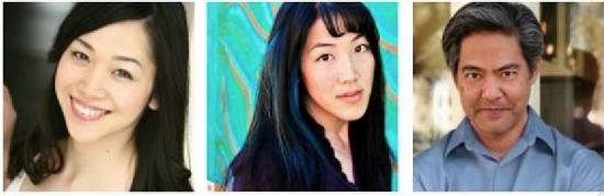 Anjo, Traci Kato-Kiriyama and Kurt Kuniyoshi.