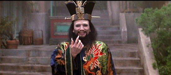 James Hong plays the villain, Lo Pan.