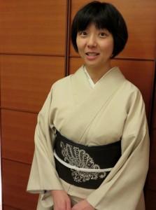 Japanese-language winner Miyuki Sato (Courtesy of Miyuki Sato)