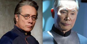 Edward James Olmos, George Takei