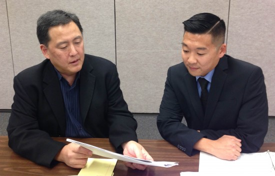 JCCCNC Executive Director Paul Osaki and Director of Programs Matthew Okada.