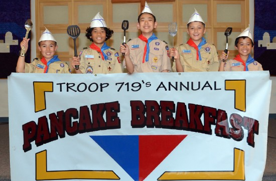 troop 719 pancake breakfast
