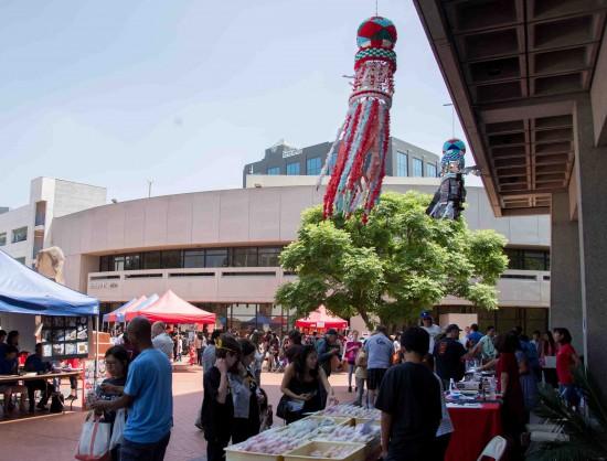 2015 Fiesta Matsuri. View from San Pedro by Ken Shrivastava