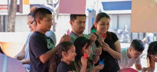 2015 Fiesta Matsuri.Family Cranes by Ken Shrivastava